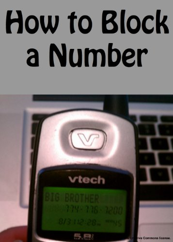 How to Block a Number (English Edition) - Sprint Iphone 5