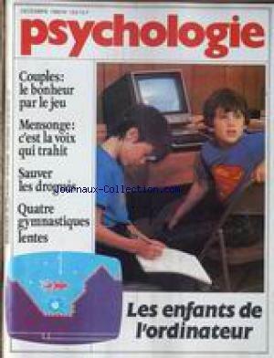 PSYCHOLOGIE [No 153] du 01/12/1982 - COU
