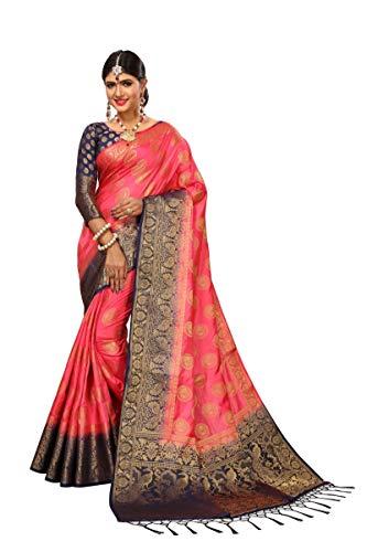 Nirja Creation Women Traditional Silk Banarasi Saree