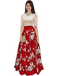 Nine Street Store Women's Cotton Silk Dress Material