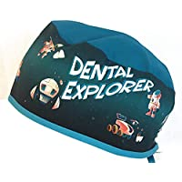 Gorro cirujano, quirófano, enfermero, médico, veterinario, dentista. Dental explorer. Pelo corto.