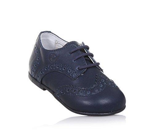 NATURINO - Blauer Halbschuh mit Schnürsenkeln aus Leder, ideal zum Laufen lernen und zum Krabbeln, Jungen-25