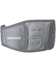 Sport-Elec Ceinture abdominale ergonomique pour appareils à modules Gris