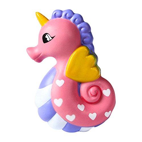 Mamum 15,5 cm nett Seepferdchen matschig Spielzeug ?? matschig nett Seepferd Duftcreme langsamer Anstieg Spielzeug Kompression Dekompression