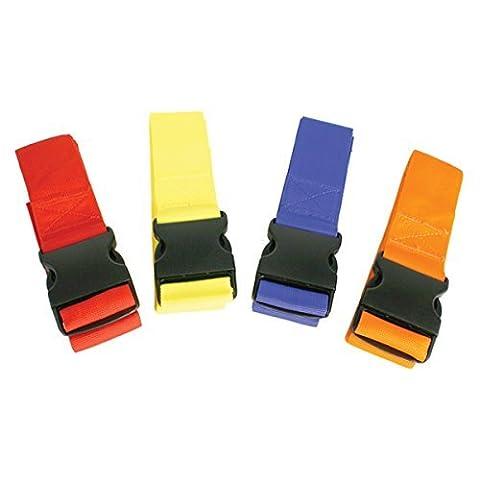 Kiefer Color-Coded Spine Board 4 Torso Straps, Assorted Colors by Kiefer