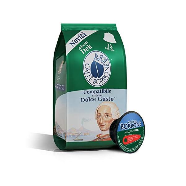 Caffè Borbone Miscela Blu - 90 capsule (6 confezioni da 15 capsule) - Compatibili Nescafè Dolce Gusto 1 spesavip