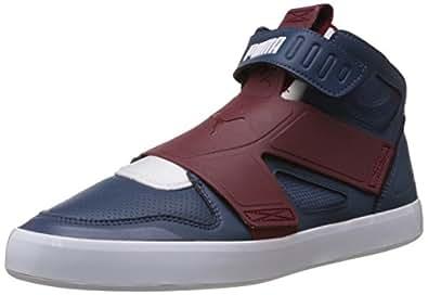 Puma Men's El Rey Future Bwt, Cabernet, White and Cabaret Leather Sneakers - 12UK/India (47EU)