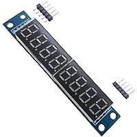Ecloud Shop® Módulo de visualización digital de control de puertos 3 IO Nueva MAX7219 8-bit