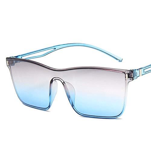 WERERT Sportbrille Sonnenbrillen Rimless Sunglasses Women Ocean Clear Square Sun Glasses For Female Gradienteil