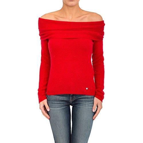 Maglia Donna Armani Jeans 6X5M7D 5M0KZ Rosso Autunno/Inverno Rosso 42