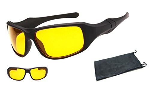 MK4 NACHT FAHREN GLÄSER ANTI GLARE COMPUTERGLÄSER HD-Brille Geeignet für verbesserte Nachtsicht. Blendschutz Nachtsicht