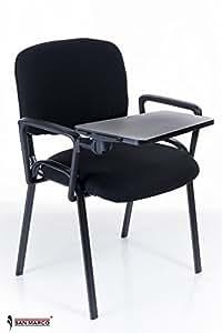 10 sedie conference da attesa con scrittoio ribaltina for Scrittoio per ufficio
