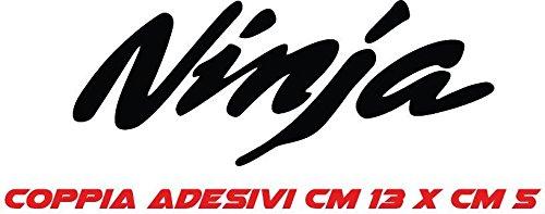Kit 2 Adesivi Stickers Moto ninja, Kawasaki, 600, superbike, Tuning - COLORE A SCELTA