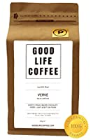 GOOD LIFE - VERVE Paleo Certified, 100% Organic Coffee, Bulletproof Optimised, Premium Roasted Coffee from Cauvery Peak, Roasted to Order, Award Winning Single Origin Arabica Coffee Beans, Low Acidity Coffee - Impossibly Delicious Taste