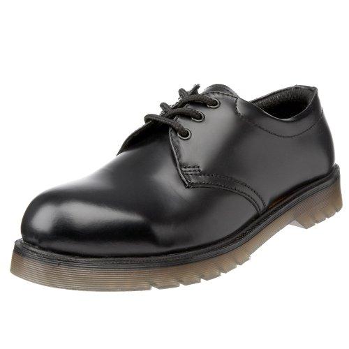 Sterling Steel Men's SS100 Safety Shoes Black 10 UK