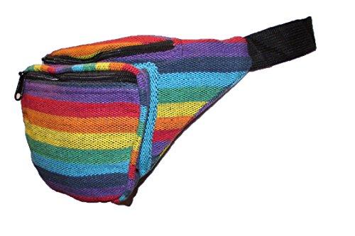No Eye Deer - Riñonera  Multicolor arcoíris