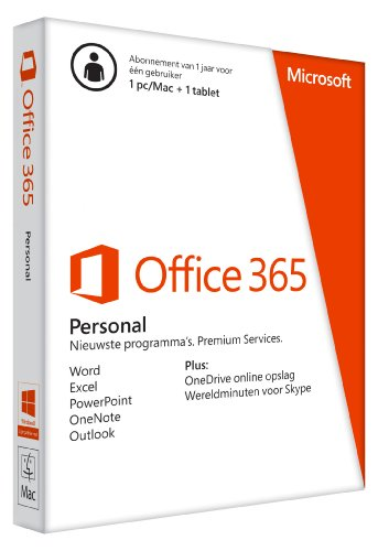 MS Office 365 Personal 32-bit/x64 Subscr 1YR - Personal Office 365-microsoft