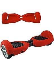 Protège Tout Hoverboard Coque Hoverboard Housse de Protection Silicone Pour 6,5 Pouces 2 Roues