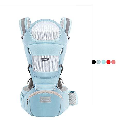 Twikik Babytrage Gute Atmungsaktivität im Sommer, Cool Babytragetuch für Neugeborene & Kleinkinder 4-48 Monate (3,5-30 kg)