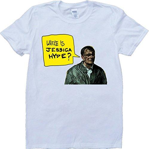 Utopia Wo Ist Jessica Hyde Weiß Benutzerdefinierten Gemacht T-Shirt Weiß