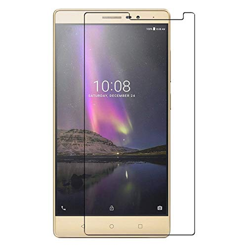 BAI AND KAKA® Tempered Glass for Lenovo Phab 2 Plus  Pb 670  Anti Fingerprint Clear