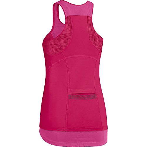 GORE RUNNING WEAR Tank Top Corsa Donna, Traspirante, GORE Selected Fabrics, AIR LADY Tank Top, ITAIRD Rosa