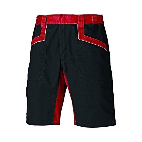 """Dickies Industry 260 - Pantaloni Corti da Lavoro - Uomo (44"""") (Rosso/Nero)"""