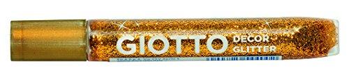 Giotto- Colla Metallolic Glitter 5pz Colori Assortiti 10,5 ml, 545100