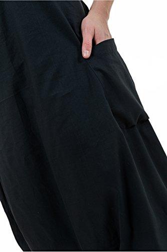 - Combi sarouel femme babacool basic ethnic Yojana - Noir