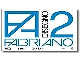 takestop SET 2 FABRIANO ALBUM DA DISEGNO FOGLI0 F2 riquadrato liscio 24X33CM 10 FOGLI CIASCUNO