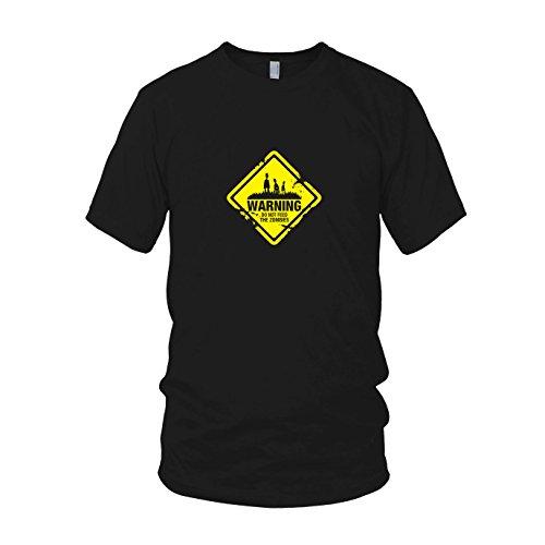 Do not feed the Zombies - Herren T-Shirt Schwarz