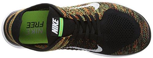 Bianco Flyknit 4 Totale Veleno Scarpe Verde Nero Nike Da Corsa Formazione Uomo Free Arancio 0 nero BSU5WxnP