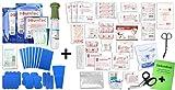 Erste Hilfe FÜLLUNG Gastro für Betriebe DIN/EN 13157 INKL. Augenspülung + Brandgel + detektierbare Pflaster + Hydrogelverbände