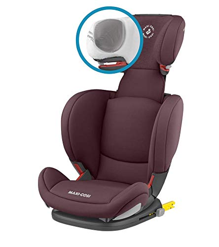 Maxi-Cosi RodiFix AirProtect Child Car Seat, Isofix Booster Seat, Red, 15-36 kg Maxi-Cosi Booster car seat for children from 15-36 kg (3.5 to 12 years) Grows along with your child thanks to the easy headrest and backrest adjustment from the top Patented air protect technology for extra protection of child's head 10