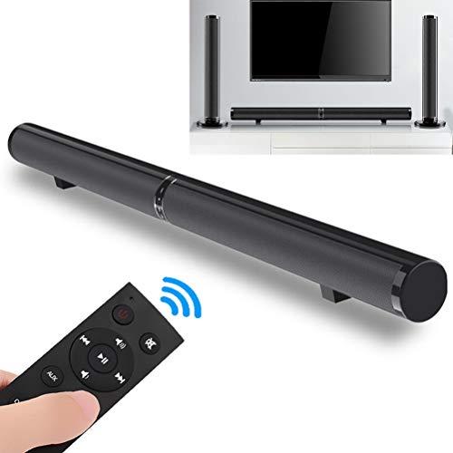 XGLL TV-Soundbar, teilbares Design mit kabellosem und kabelgebundenem 2.0-Kanal-Heimkino-Lautsprecher, Surround-Soundbars für TV/optisch/RCA/AUX/Fernbedienung