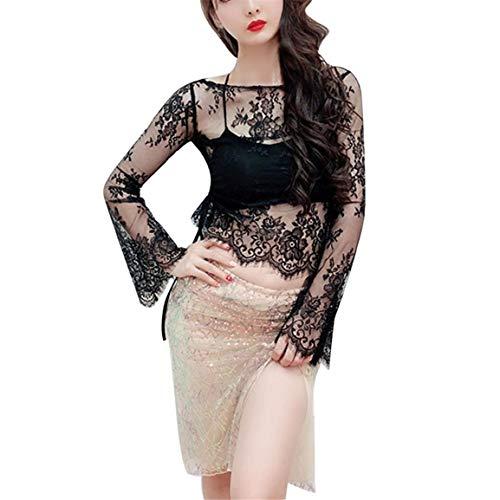 Frauen Arm Shaper Cardigan Damen Plus Größe Nahtlose Arm Shaper Leopardenmuster Lange Cropped Mesh Crop Top Moonuy