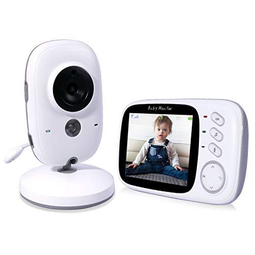 RCB Vigilabebés Inalambrico Bebé Monitor Cámara Digital Inalámbrico Monitor de bebé...