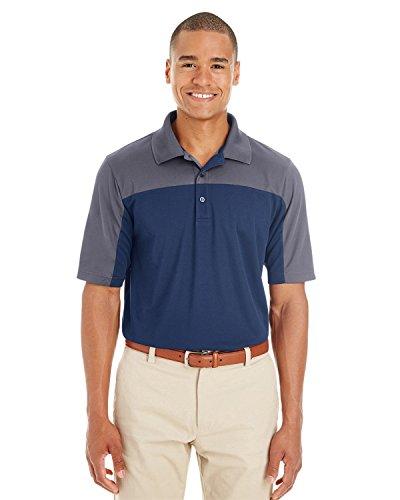 Ash City Herren Poloshirt CL NVY/ CRBN 849