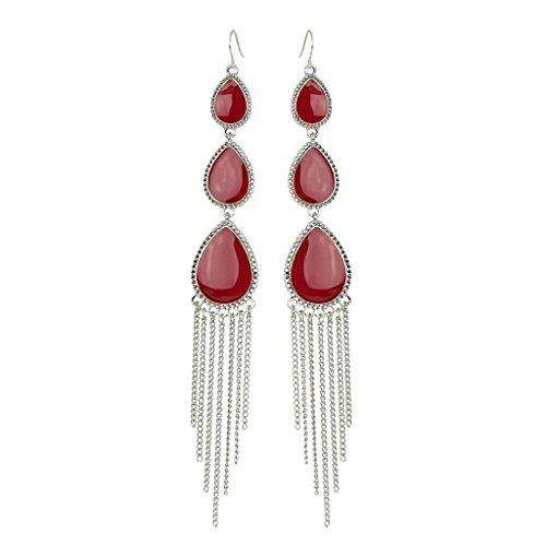 lux-accessoires-rouge-boucles-doreilles-goutte-frange-plastron