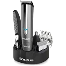 Taurus Hipnos Power 903.904 - Barbero con cuatro cabezales intercambiables, color gris