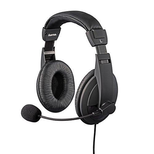 Hama Gaming-Headset Insomnia Coal (für PS4/PS4 Slim/PS4 Pro (Stereo, 3,5 mm Klinke, 1 m Kabel)) schwarz