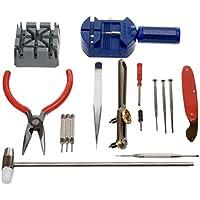 Generic 16 pcs Deluxe watch opener tool kit repair pin Remover