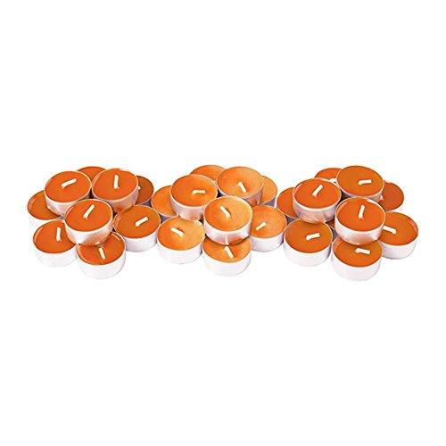 Ikea sinnlig scented blossom profumo candele tea light colorate per matrimonio party bbq orange ( tangerine sunshine )