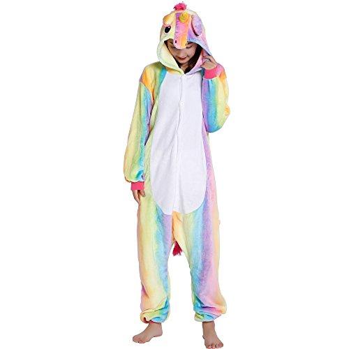 Pyjama Licorne Unicorne Animaux Adulte Unisexe Aminal Pyjamas Combinaison Pyjama Déguisement Costume Ensemble Pyjama Panda Dinosaure