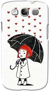 DailyObjects Love Rain Case For Samsung Galaxy S3