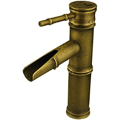 BL Ringrosso vintage antiquariato europeo lavabo rubinetto/lavandino rubinetto