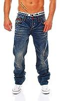 CIPO & BAXX - C-0886 - Regular Fit - dicke Naht - Men / Herren Jeans Hose