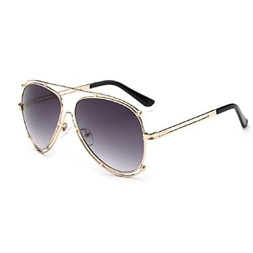 O-C Damen Sonnenbrille Grau (Kostüm Pflanze Topf Im)