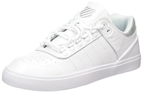 K-swiss Gstaad Neu Baskets Basses Et Athlétiques Blanches (blanc Irisé).  Chaussures pour femmes ...