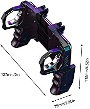 RONSHIN K21 PUGB Helper 4 Finger Linkage Game Handle Peace Elite Fast Shooting Button Controller for PUBG Rule